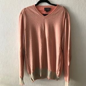 Beautiful Cashmere and Silk V-Neck Sweater